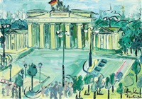 the brandenburg gate by silvia ghenea