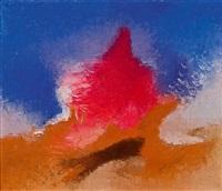 farbdramaturgie mit blau, rot und orange by georg jung