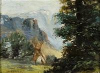 montana by joseph henry sharp