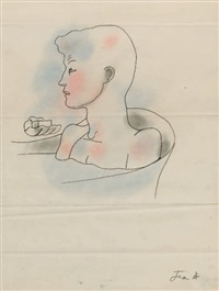 le livre blanc (w/1 work) by jean cocteau