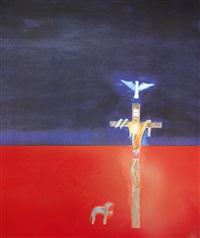 crucifixion by craigie aitchison