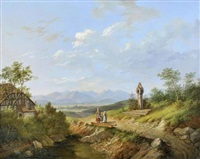 promenade au pied des montagnes, autriche by matthias rudolf toma