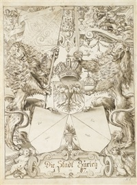 the arms of zurich by daniel lindtmayer the younger