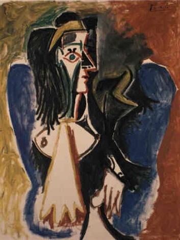 Femme Assise Dans Un Fauteuil Picasso