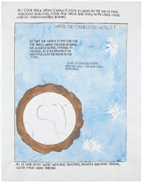 no title (as i look back...) by raymond pettibon