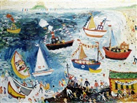 fish festival, newlyn by simeon stafford