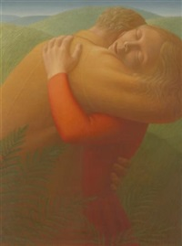 embrace i by george tooker