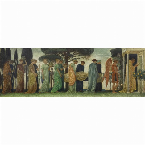 the death of the year by walter crane
