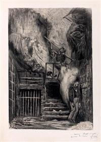 la rue de la vieille lanterne ou la mort de gérard de nerval by gustave doré