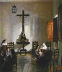 visita en el convento by alfono grosso
