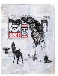 obey wk flyer by shepard fairey