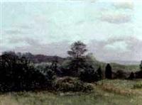 landscape in summer by robert hamblen