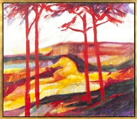 red landscape by a.b. jackson