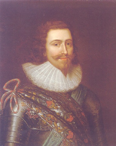 portrait of george villiers, 1st duke of buckingham by balthazar gerbier d'ouvilly