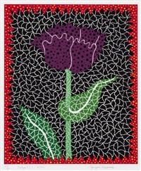 tulip (i) by yayoi kusama