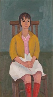 seated girl by jori smith