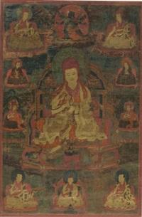 sakya lama by anonymous-tibetan (16)