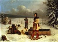 scene in the northwest by paul kane