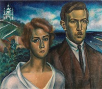 couple russe by n. brodsky