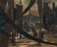 boats through the nets by yong mun sen