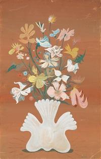 bouquet de fleurs by lucien coutaud