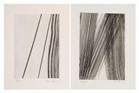 gp 1978-17 -gp 1978-21 -gp 1978-15 (set of 3) by hans hartung