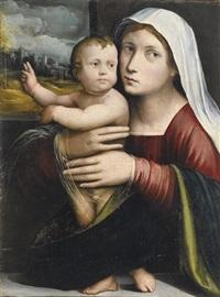 madonna con bambino by giacomo francia