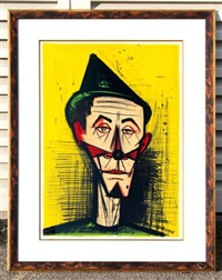 clown by bernard buffet
