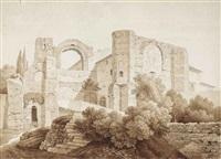 ruines à albano by friedrich wilhelm gmelin