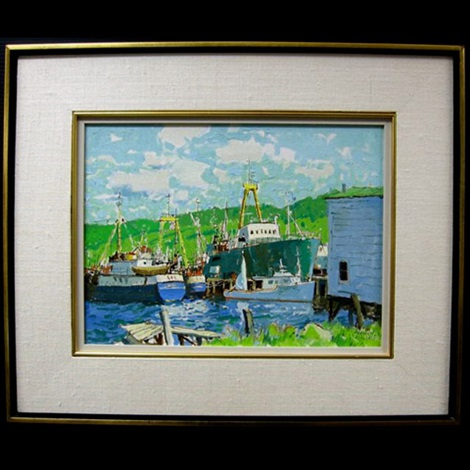 riverport ns by george franklin arbuckle