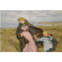 the breeze's kiss by lionel percy smythe