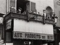 rue delambre, paris by andré kertész