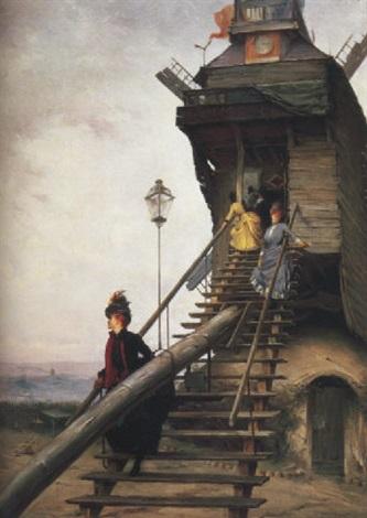 moulin de la galette by paul françois quinsac