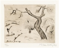 twisted tree by milton avery