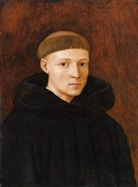 porträt eines jungen mönchs by jean fouquet