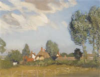 an essex village by sir george clausen