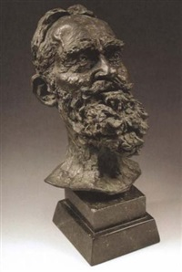 bust of george bernard shaw by kathleen scott kennet