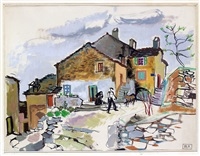 place de village by renee bernard