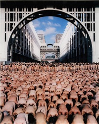 venezuela 2 (caracas museum of contemporary art) by spencer tunick