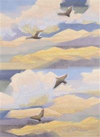 kumaon skies by jehangir sabavala