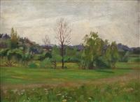 landschaft by wilhelm dachauer