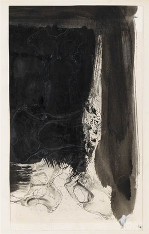untitled drawing study by betye saar