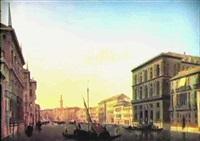 le grand canal a venise depuis le rialto by alexandre raulin