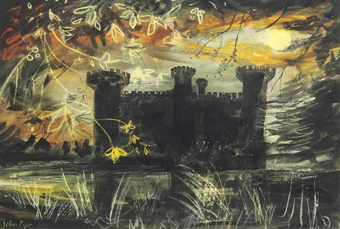 eastnor castle by john piper