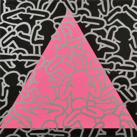 silence equals death by keith haring