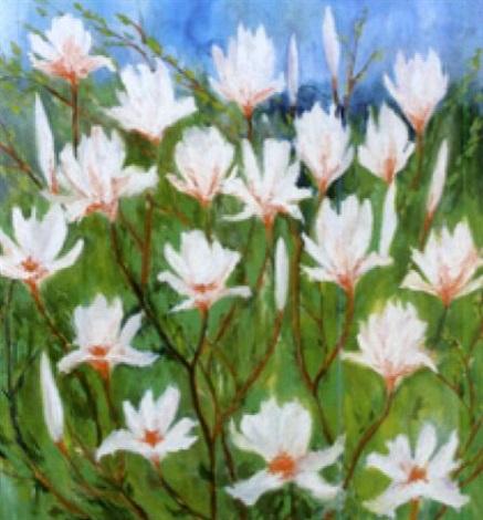 magnolien by max blau