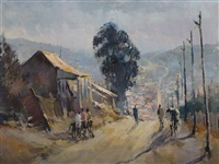 street scene by ruth squibb