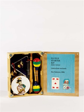fluxus starter kit home version by ben patterson