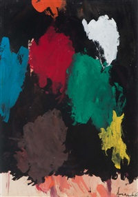 gouache 23.i.'67 by eugène brands