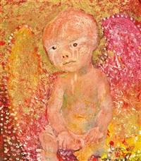 della-francesca angel by john de burgh perceval